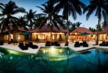 Belukar / Luxury small secluded resort with 12 rooms and a restaurant set around a fabulous 25m fresh water pool