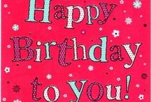 #Happy Birthday to you!