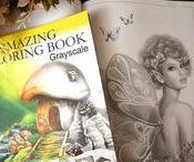 Coloring, Coloring Books, Pages / Coloring books and pages.  Art by Alena Lazareva
