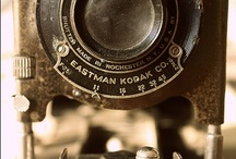 Cameras / Typewriters and Binoculars / Who has been photographed through these lenses? What communication was sent via these typewriters?  What views have been seen through the binoculars?