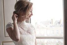 Robe de mariée - Collection Chantilly / Découvrez notre campagne photo réalisée pour le lancement de notre collection Chantilly de robe de mariée. Retrouvez-nous sur http://fabiennealagama.com