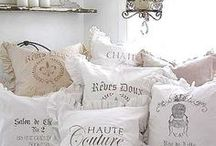Cushion Crush / Scatter cosy cushions everywhere.