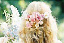 Vlasy,účesy a ozdůbky vlasů / Beautiful hair and hairstyles