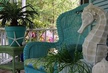 Coastal Style Home / Beautiful, fun, creative decor for a coastal home.