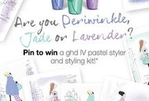 I am Lavender / #ghdpastels Pin it to Win it