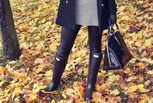 Women's autumn / winter style