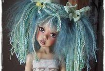 Art Dolls - Kaye Wiggs / umělecké autorské panenky od Kaye Wiggs