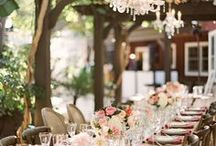 Tablescapes for celebrating / This is a collection of tablescapes of all kinds of styles to give you some inspiration for your celebration.