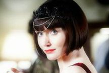Phryne Fisher / Lingerie Looks Inspired by Miss Fisher's Murder Mysteries