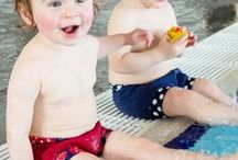 Konfidence Swim Nappies / If you're taking your baby or toddler swimming, then the first thing you need to make sure is that they're hygienically safe and sound - and Konfidence's range of reusable AquaNappies and Swim-School approved NeoNappies offer the perfect solution.