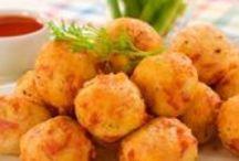 Receitas de Salgados / Aprenda a fazer salgados deliciosos com as nossas receitas.