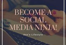 Become a Social Media Ninja / Are you interesting in Social Media? Would you like to know how to use Pinteresti, Instagram, Facebook, Twitter or Youtube to succeed? Here you can find evrything you need