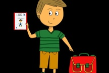 Mes dessins des responsabilités / Mes dessins pour illustrer les responsabilités des élèves à l'école !