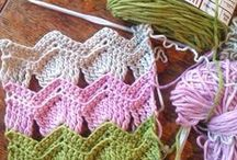 Instruções de Crochet