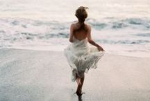 """FOREVER   Summer Brides / """"Smell the sea, and feel the sky,  Let your soul & spirit fly Into the mystic...""""  ― Van Morrison / by Forever Soles"""