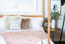 A place to lay your head / Dreamy bedrooms we just wanna fall asleep in.
