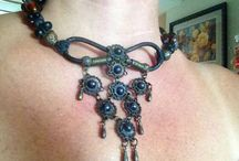 Jewelry- my weakness / Oooh Pretty/ beautiful/gorgeous/ well made and designed, antique & vintage - wearable art  / by Winnie Adams