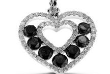 Black Diamonds / We have a large collection of black diamond jewelry for both men and women!