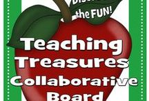 Teaching Treasures Collaborative Board / Join and Pin on Teaching Treasures Collaborative Pinterest board. If you'd like to join in on the pinning fun, follow this board http://www.pinterest.com/rftspreschool/ first then let me know which boards your interested in joining   Teacher's Notebook -   Please - 2 pins per day   Happy Pinning!