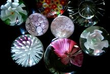 Paperweights, how cool iszat? / Objects to be used as paperweights , Glass, Wood,Fossils, sculpture, rocks Would so love to have some of these. They are fascinating ! / by Winnie Adams