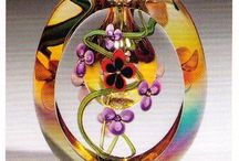 Glass with class / Vases , urns, bottles, Chrystal, blown glass- Woo Hoo, Beautiful ! / by Winnie Adams