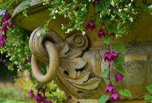 Garden Ornamentation / Urns, planters, fountains, gazebos, borders...