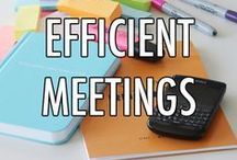 Meeting Hacks / Hosting a meeting? Check out these tips and how-to's to maximize productivity and effectiveness