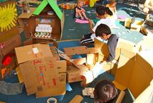 Global Cardboard Challenge / Inspired by the short film, 'Caine's Arcade', the Global Cardboard Challenge is an annual event presented by the Imagination Foundation that celebrates child creativity and the role communities can play in fostering it.