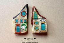 Painted stones by Unicatella - Anita Bujakowska / Kamienie ręcznie malowane - Unicatella