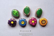 NEW PROJECT - MINI STONES BY uNICATELLA / Painted Mini Stones by Unicatella