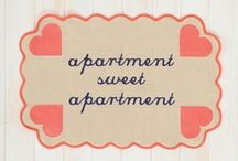 Apartment Living / Ideas and inspiration for your new apartment space