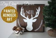 DIY Christmas Decorations / Christmas decorations you can make yourself for a handmade Christmas.