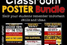 Posters and Anchor Charts for High School