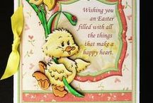 Easter Card Downloads / Easter card making downloads by Janet Briggs