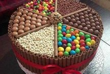 Cake and candy!