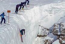 Ski vintage / Plein de bonnes vieilles images sur les sports d'hiver