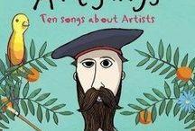 Books for children's that teach art
