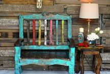 Sofia's Rustic Furniture / We bring a little funky style to your life with Rustic Furniture and Rustic Home Decor. Each piece is individually crafted by skilled artisans in San Antonio.
