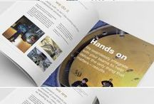 Brochures / A sample of  brochures I have designed over the years.