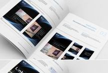 Corporate Identity / A selection of corporate identity and logo guideline projects.