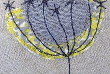 Embroidery / Вышивка крестиком, гладью, стебельчатым и тамбурным швом