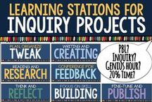 Inquiry Learning in Secondary Classes / Tips, ideas, lessons and activities for using inquiry in middle and high school English classes