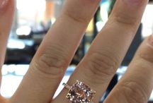 { Morganite Rings } / Morganites come in different colors whether it's peach or pink, we will display them here :)