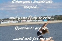 Gymnastics Stuff / by Gina Pace
