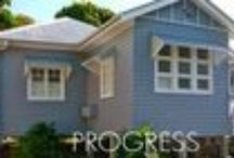 SLOABH (posts about my cottage) / the second life of a blue house - my little cottage