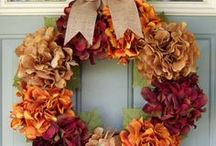Time for Thanks / Thanksgiving is that special time of year where we acknowledge what we're grateful for with those closest to us. See all the ways you can decorate your home and make it especially warm and inviting for all your family and friends!