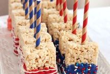 Stars and Stripes / Celebrate Independence Day with a bang! Decorate your home with these fun and festive 4th of July ideas.
