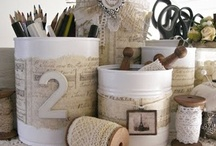 Craft/Sewing room ideas / by Sandy Giannini
