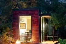 Tiny Houses / Houses I'd love to have at a retreat facility