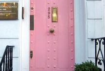 Front Door / Choosing a front door can either welcome or repel visitors. / by Connie Hunt